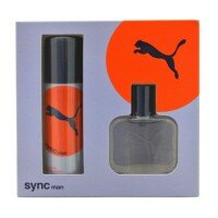 Puma Sync Man Zestaw - woda toaletowa 25ml spray + dezodorant 50ml spray