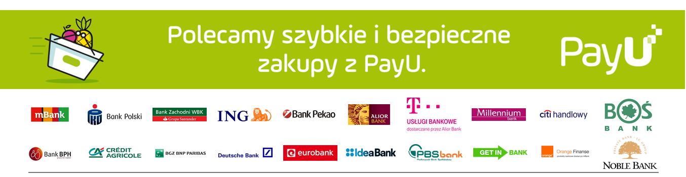 Polecamy szybkie i bezpiecznie zakupy z PayU - Partnerzy